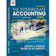 ONHAND AUTHENTIC The Intermediate Accounting Volume 3 Series 2021 edition by Robles and Empleo