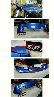 RS尾翼 Honda Fit3 Fit GK 白色 藍色 黑色 歡迎預約安裝
