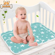 Baby Foldable Washable Changing Mat Cute Waterproof Mattress Reusable Diaper