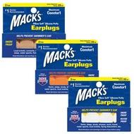 美國 Mack's 成人矽膠耳塞 2副裝 防噪音 飛行 游泳 適用