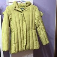 Lacheln‼️青蘋果綠羽絨外套