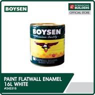 BOYSEN PAINT ENAMEL FLAT WALL800 16L