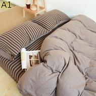 ??型男必備??日本 超夯人氣 MUJI同款 天竺棉 純棉 床包四件組 床罩 雙人床 單人床 高質感 紳士 裸睡神器