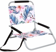 Beach Chair Foldable Frangiani 60h X 58d X 51w