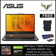 Asus TUF A15 FA506I-IHN241T 15.6'' FHD 144Hz Gaming Laptop ( Ryzen 7 4800H, 8GB, 512GB SSD, GTX1650Ti 4GB, W10 )