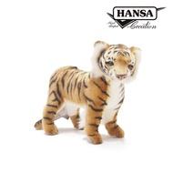 亞洲動物系列|6780 老虎站姿|40公分【Hansa Creation擬真動物玩偶】