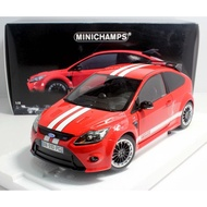 【M.A.S.H】[現貨特價] Minichamps 1/18 Ford Focus RS Le Mans red