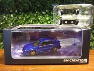 1/64 BM Creations Subaru Impreza WRX 2001 64B0079【MGM】