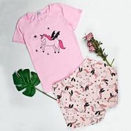 Short Sleeve Cotton Womens Pajamas for women sleepwear cartoon pajama set Cotton pyjamas women cute Sleepwear