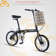 Flying Pigeon Folding Bike 16 Inch 20 Light Variable Speed Ultra-light Portable Small Wheel Adult Male and Female Student Son Bicycle