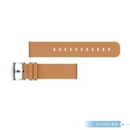 【HUAWEI 華為】原廠Watch GT2 42mm 專用 智慧手錶真皮皮革錶帶 - 卡其色