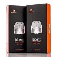 【正品】Geekvape比登BIDENT雙發pod 0.8 0.12歐姆 一盒二入 另售歐比特nord動脈(717)