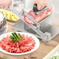 不銹鋼手動冷凍肉切片機羊肉片切片機