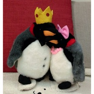 【現貨】 北極 國王企鵝 企鵝 公+母 絨毛 可愛 娃娃 玩偶 國王企鵝娃娃 企鵝娃娃 北極企鵝 北極企鵝娃娃