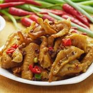 《大嬸婆》輕食開胃菜-煙燻椒麻去骨鳳爪(200g)-任選