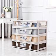 塑膠大號床底收納箱衣櫃寶寶衣物透明整理箱玩具儲物箱滑輪整理箱