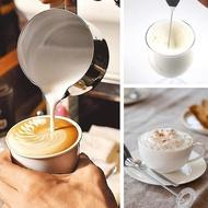 GROWS-เครื่องตีฟองนมไฟฟ้า เครื่องทำฟองนม เครื่องปั่นฟองนม เครื่องตีฟองนมแบบไร้สาย ใช้ง่ายไม่ต้องง้อร้านกาแฟ (เพียงแค่ใส่ถ่านกดที่ปุ่มด้านบนจะหมุน พอปล่อยก็หยุดการทำงาน)