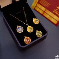 สร้อยคอทองคำแท้ 0.3 กรัม + จี้อัลเลาะห์ เลี่ยมทองแท้ กรอบทอง 90% มีใบรับประกันให้ค่ะ พระเลี่ยมทอง ราคาเป็นมิตร