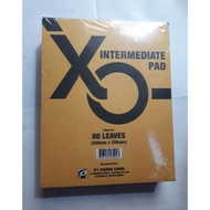Intermediate pad paper