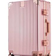 กระเป๋าเดินทาง กระเป๋าเดินทางอลูมิเนียม Luggage กระเป๋าเดินทาง   ไชส์20/24/28นิ้ว Aluminium frame
