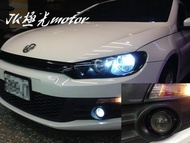 JK極光HID霧燈魚眼 福斯GOLF AMAROK CADDY JETTA SCIROCCO TOURAN  VW T5