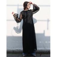Ungrid 全蕾絲長袖洋裝(3色)