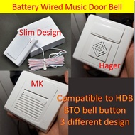 Wired Battery Door Bell for HDB/BTO/Condo