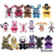 ✣18cm FNAF Plush Bonnie Freddy Toy Five Nights at Freddy's Plushie Kids Gift