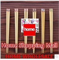 Cute Japanese-style creative oriental yellow poplar chopsticks Symphony edge craft household solid w