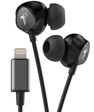Thore V100 Lightning Headphones Pink black grey for iPhone Lightning MFi Certified by Apple with mic หูฟัง in ear พอร์ทไลท์นิ่ง มีไมค์