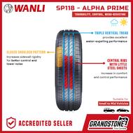 Wanli 185/70R14 88T SP118 Alpha Prime Passenger Car Tires   www.grandstone.ph