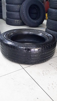 Used Tyre Secondhand Tayar (With Installation) Bridegestone H/T 265/60R18 40%Bunga Per 1pc