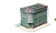 N規,TOMYTEC 街並第4彈--營業所/角店造街必備/散裝版