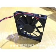 國產 YM1208PTS2 12v 0.15a 8015 8025 8CM風扇 含油2線散熱風扇