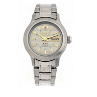 Orient FNQ05004K Women's 3 Star Stainless Steel Automatic Watch