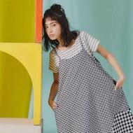 【Dailo】動物造型口袋橫條-女短袖上衣(二色/版型適中)