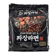韓國 No Brand 經典炸醬拉麵(135gx5包)【小三美日】團購/泡麵 D141957