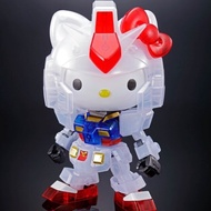 Hello Kitty/RX-78-2 鋼彈[SD EX-STANDARD][透彩版本]