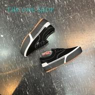 VANS ERA Stacked 厚底 增高 黑色 麂皮 帆布鞋 膠底 4.5公分 有點重喔 VN0A4BTOLF9