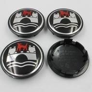 65mm VW Emblem Wheel Caps Cover For Volkswagen Center Hub