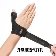 限時優惠9折 媽媽手護腕大拇指腱鞘扭傷護具籃球護指套運動護手指護手腕男女