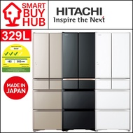 HITACHI R-XG450KS 329L 6-Door FRIDGE (3 Ticks)