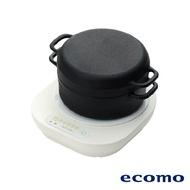 【點數回饋最高20%】日本 ecomo ( AIM-CT103 ) cotto cotto IH電磁爐 x 南部鐵器萬用鍋組
