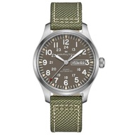 【HAMILTON 漢米爾頓】KHAKI FIELD 卡其野戰軍風機械錶(H70535081)