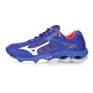 (男女) MIZUNO WAVE LIGHTNING Z5 排球鞋-訓練 美津濃 藍白橘