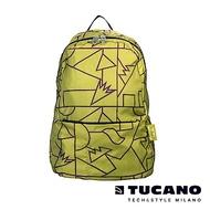 TUCANO COMPATTO X MENDINI 超輕量防水尼龍折疊收納後背包-草綠