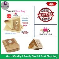 5pcs Replacement Electrolux Pensonic Philips Sanyosemission Vacuum Cleaner Bag