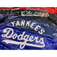 M&N MLB大聯盟棒球外套 洋基/道奇/白襪/紅雀