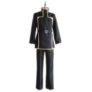 Code Geassคอสเพลย์Lelouch Lamperougeชุดนักเรียนญี่ปุ่นชุดสีดำบุรุษCode Geass Lelouch Vi Britanniaเครื่องแต่งกาย