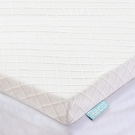 RECCI 3-Inch Memory Foam Mattress Topper Queen, Pressure-Relieving Bed Topper, Memory Foam Mattress Pad with Bamboo Viscose Cover - Removable&Washable,CertiPUR-US(Queen Size)